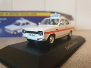 ATLAS EDITIONS - FORD ESCORT MEXICO - SUSSEX  - 1/43.SCALE - POLICE COLLECTION