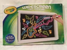 Crayola Widescreen Light Designer Complete Set For Ages 6+ New Unopened