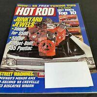 Hot Rod Magazine January 1999 | Junkyard Jewels | Tuning Tips | Biscayne Wagon