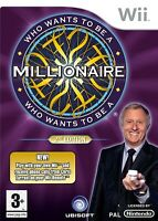 Wii - Wer wird Millionär? / Who Wants To Be A Millionaire? 2nd Edt. UK mit OVP