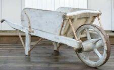 Garden Antique Wooden Wheel Barrows