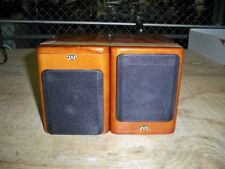 JVC SP-UX2000RGD Pair of Cherry Wood Bookshelf Micro Component Speakers