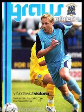 2008/09 Grays Athletic V Northwich Victoria 16-08-2008 Blue Square Premier