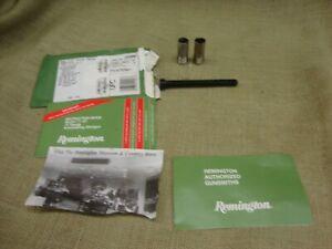 Remington 11-87 manual , plug and  Full & Mod choke remchoke