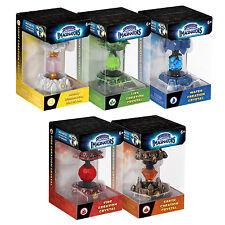 Skylanders pack de cristal de creación imaginators 5-agua, la vida, la luz, tierra, fuego