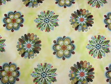 Flower Dreams Blossom Heads Ozark Quilt Pattern on COTTON FABRIC Priced Per YARD