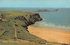 B103830 rhossili bay and worms head gower    wales