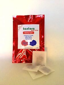 15 TANTORA BETTA SPA Tea Bags Siamese Fighting Fish Colour Survival Health pH