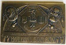 Holland Society Medal 1911