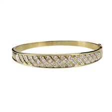 10k Multi-Tone Gold Fine Diamond Bracelets