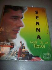AYRTON SENNA - ALBUM CARDS - PERFIL DE UM HEROI - COMPLETE - BRAZIL - SEALED