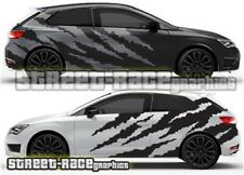 Seat Leon FR Cupra Rally 023 ripped shredded graphics stickers decals vinyl