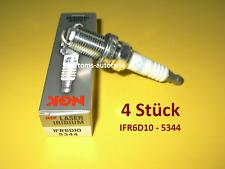 4 Original NGK Zündkerzen IFR6D10 5344 MERCEDES BENZ CLK 208 SLK R170 200 230