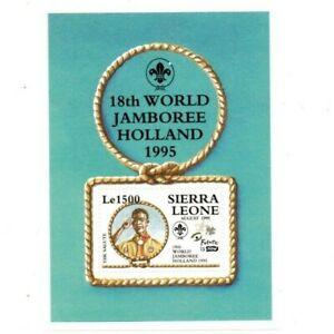 VINTAGE CLASSICS - Sierra Leone 1810 - Boy Scouts - Souvenir Sheet - MNH