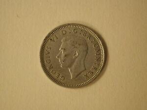 1942 Great Britain Three pence Extra Fine KM 848