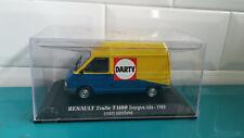 DARTY RENAULT trafic T1100 fourgon tôlé 1989 court surélévé UH 1/43