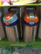 Cantigo Kids  Two 10 Oz Water Bottle
