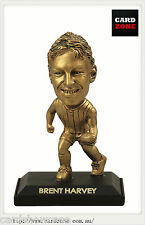 2009 Select AFL LIMITED EDITION GOLD FIGURINE NO.25 Brent Harvey(Nth Melbourne)
