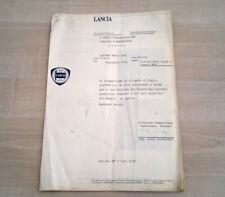Lancia Beta Coupé HPE Manuale Officina Informazione Tecnica 1979 ITA ORIGINALE