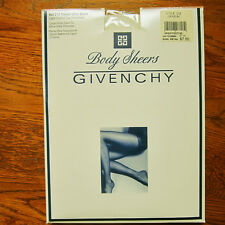 """GIVENCHY """"Body Sheers"""" Pantyhose FRECH ULTRA SHEERS Lite Control CREAM Size A"""