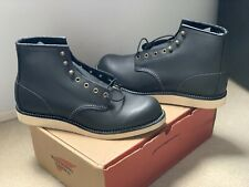 New Red Wing Heritage Rover Black Leather Round Toe Boot 2951 Size 10.5 D