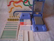 New! Print Gocco PG-5 with 5 Master 10 Lamp 3 ink B6 Screen printer postcard