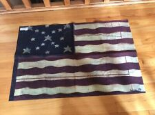 Tolan United States 4th of July Antique Decorative House Flag 28 X 40