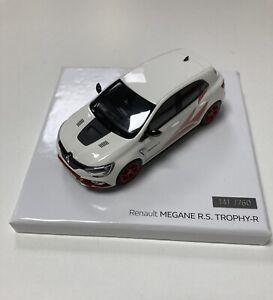 Miniature Renault Megane RS Trophy R 1/43 Jantes Rouge Norev