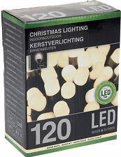 EF XL LEUCHTEN 120 LED Lichterkette warm weiß Weihnachts Beleuchtung Innen Außen