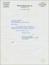 KARL E. MUNDT - TYPED LETTER SIGNED 02/18/1952