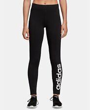 NWT's Women's Black Adidas Essential Linear-Logo Leggings sz S