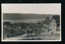 Somerset BLAGDON Village Reservoir c1920 used RP PPC pub & mailed from fair pmk