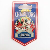 Disney Official Trading Pin Summer Of Champions 2008 Mickey Mouse Olympics