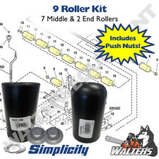 "9 Roller Set (7) 1668513 Middle & (2) 1722036 End Rollers | Simplicity 44"" 50"""