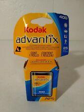Kodak Advantix 400 Speed 25 Exposure Aps Film Color Print Aps Cameras 07/2009