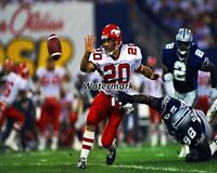 1995 CFL Doug Flutie Stampeders vs Baltimore Stallions Color 8 X 10 Photo Pic