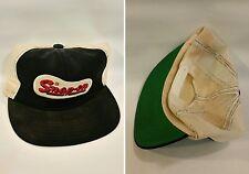 Vtg SNAP ON TOOLS MECHANICS Old Stock Trucker Hat Old School Snap Back Hat Cap