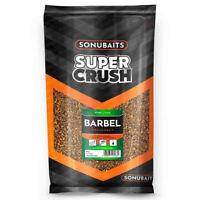 Sonubaits Super Crush Barbel Groundbait 2kg Fishmeal Bait Carp Fishing