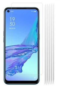 5x CLEAR LCD Screen Protector Cover Plastic Film Guards for OPPO A53