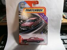 75 Chevy Caprice #53 Red Highway 2020 Matchbox Case A