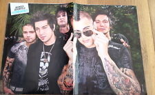 AVENGED SEVENFOLD shades Centerfold magazine POSTER  17x11 inches