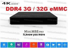 3G+32GB MINI M8S PRO DDR4 4K Smart Android 6.0 TV Box Amlogic S912 , OTA