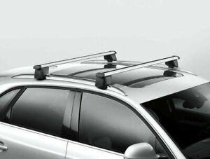 Audi Q5 SQ5 Base Carrier Bars/Roof Racks, Fits 2018-21, New OEM 80A071151