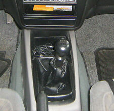 Genuine Leather Gear Shift Boot Gaiter Cover Sleeve fit DAEWOO NUBIRA 1999 -2003