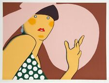 "KIKI KOGELNIK ""LADY WITH HAT"" 1980 