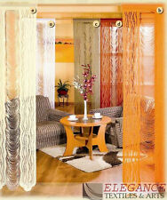 NET WINDOW CURTAIN ONE COLOUR BEIGE 200 cm x 250 cm