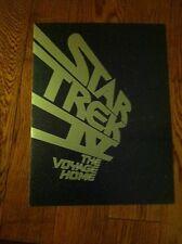 STAR TREK IV The Voyage Home MOVIE PROMO