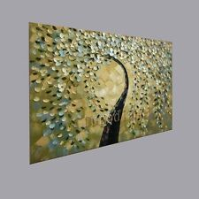 MODERN ABSTRACT HUGE OIL PAINTING ON CANVAS:tree(No Framed)