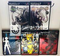Shin Megami Tensei Persona + Digital Devil Saga + Nocturne Bundle - PS2 - New