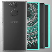 For Sony Xperia XA2 Case Hard Back Bumper Slim Shockproof Phone Cover